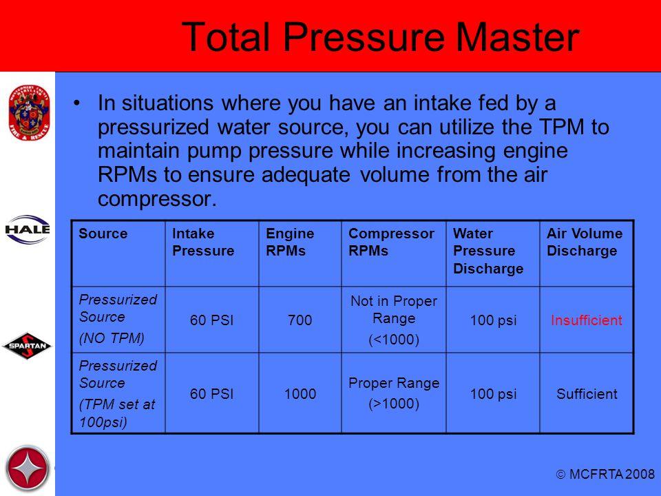 Total Pressure Master