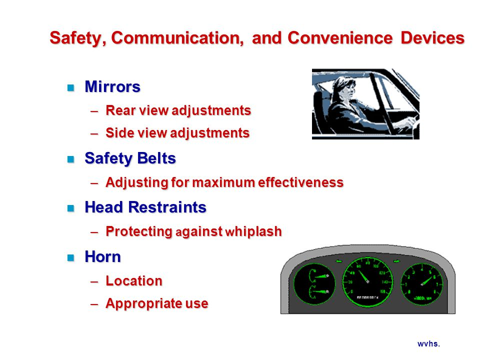 Safety, Communication, and Convenience Devices