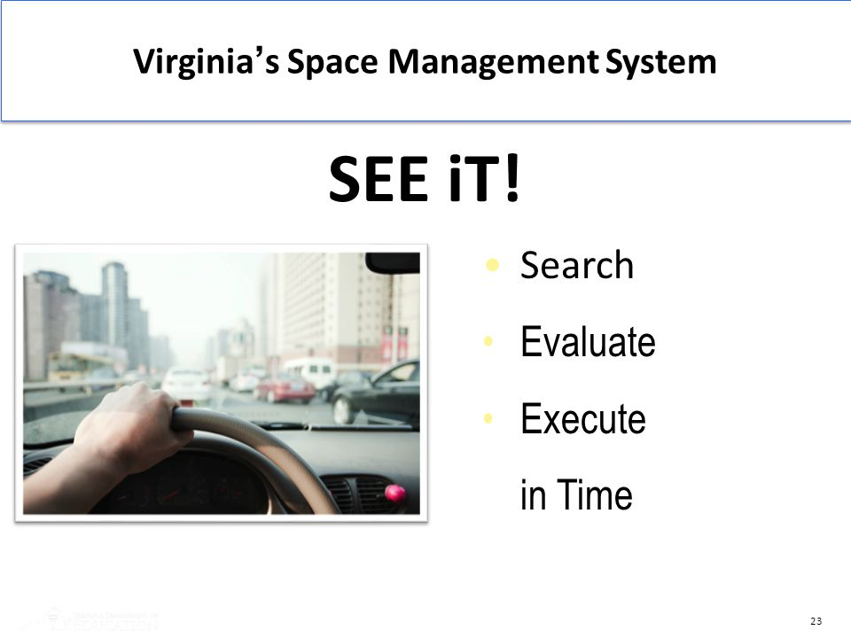 Virginia's Space Management System