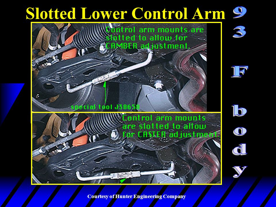 Slotted Lower Control Arm