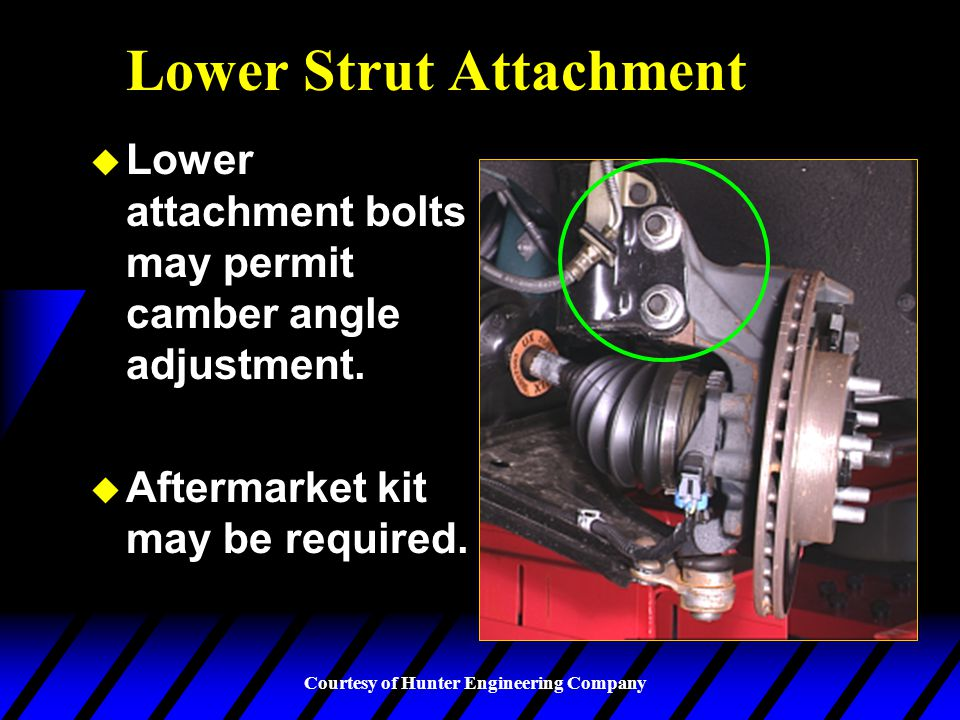 Lower Strut Attachment