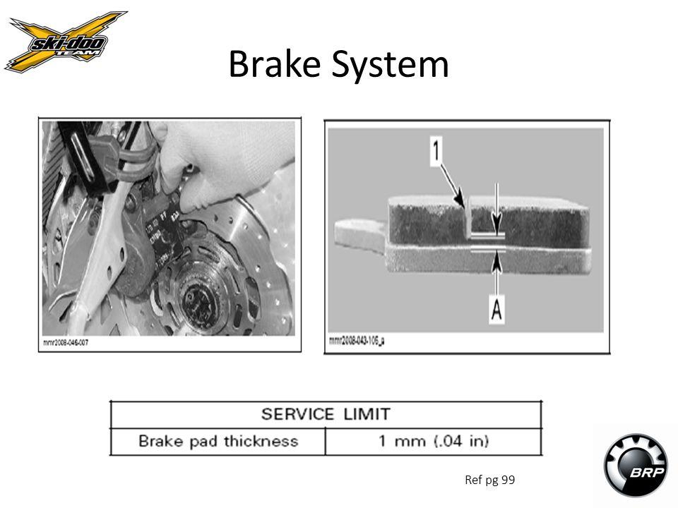 Brake System Ref pg 99