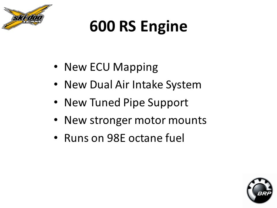 600 RS Engine New ECU Mapping New Dual Air Intake System
