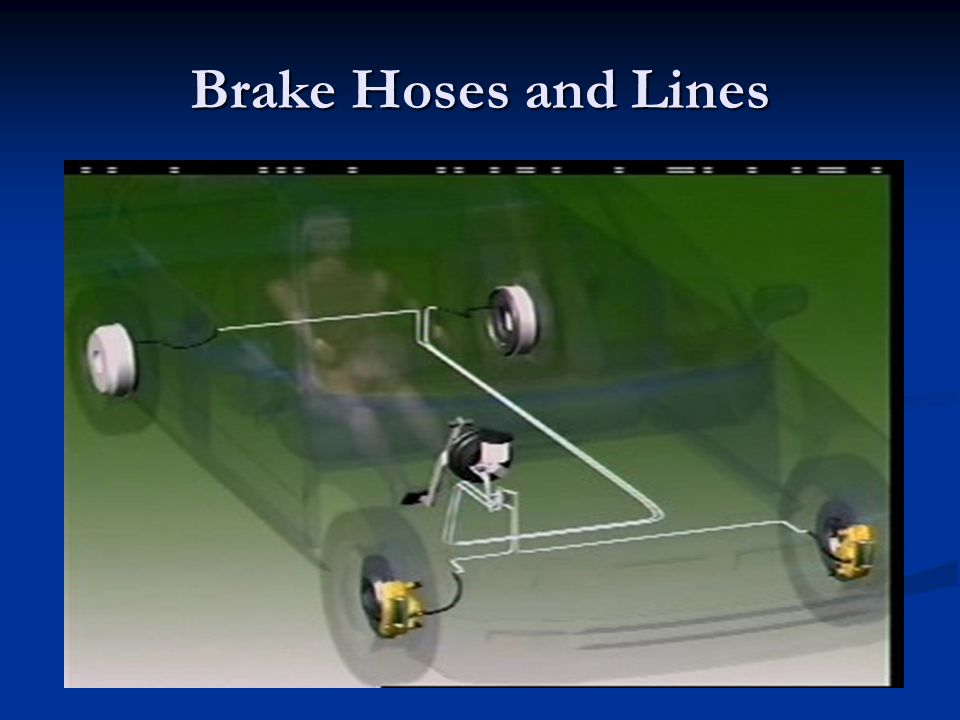 Brake Hoses and Lines