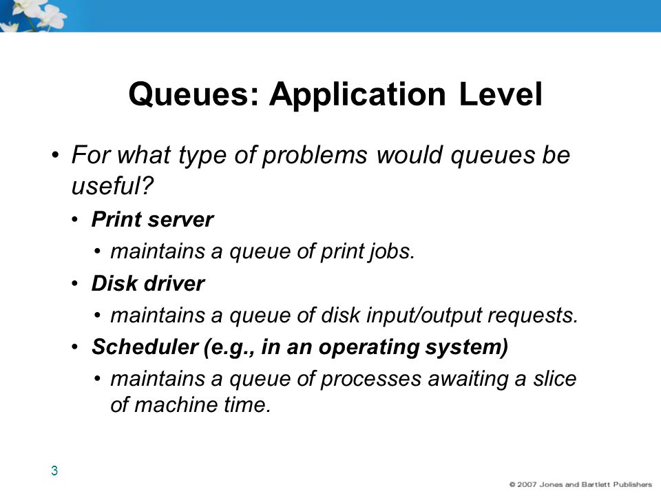 Queues: Application Level