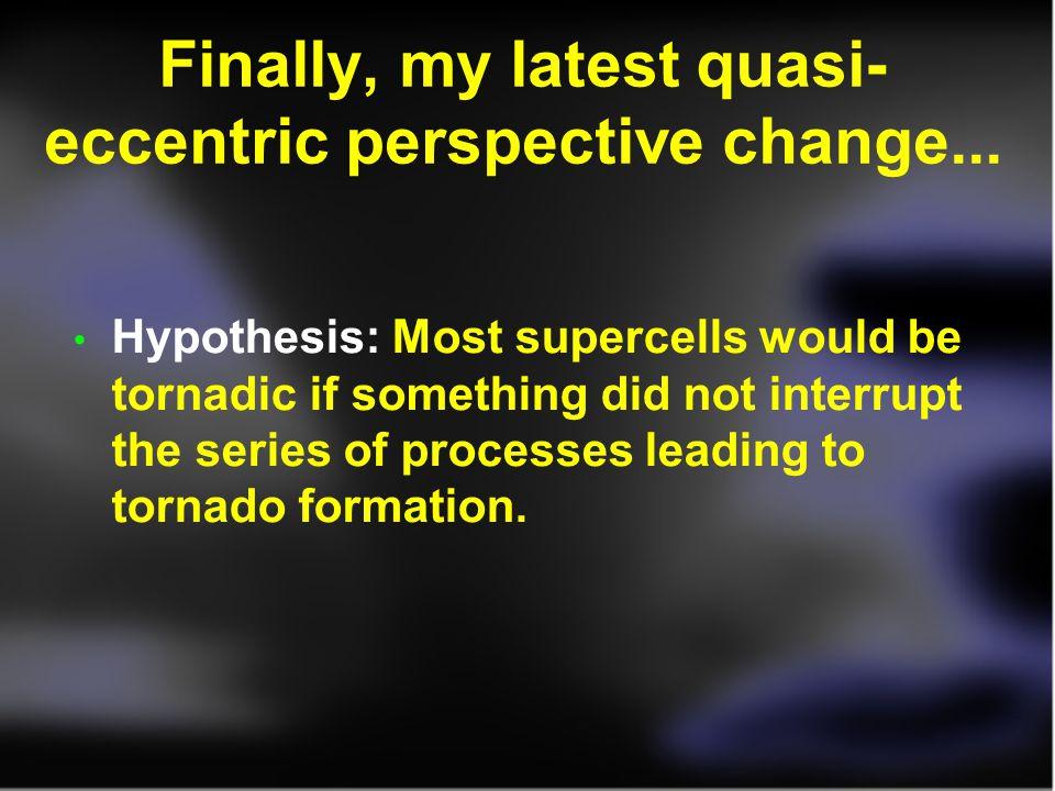 Finally, my latest quasi-eccentric perspective change...