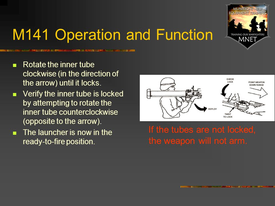 M141 Operation and Function