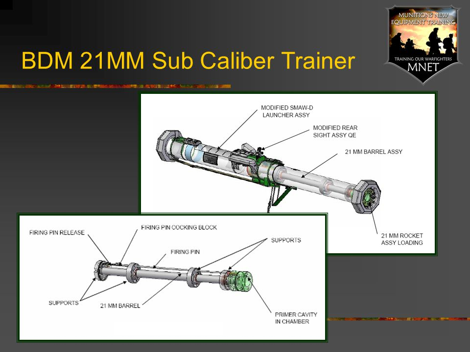 BDM 21MM Sub Caliber Trainer