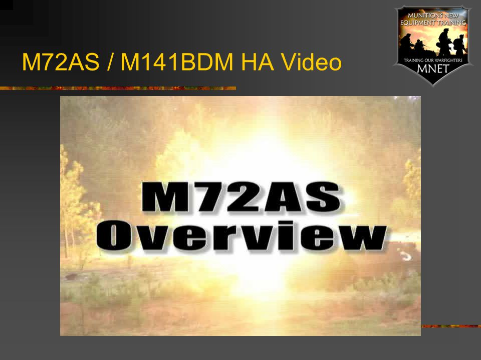 M72AS / M141BDM HA Video
