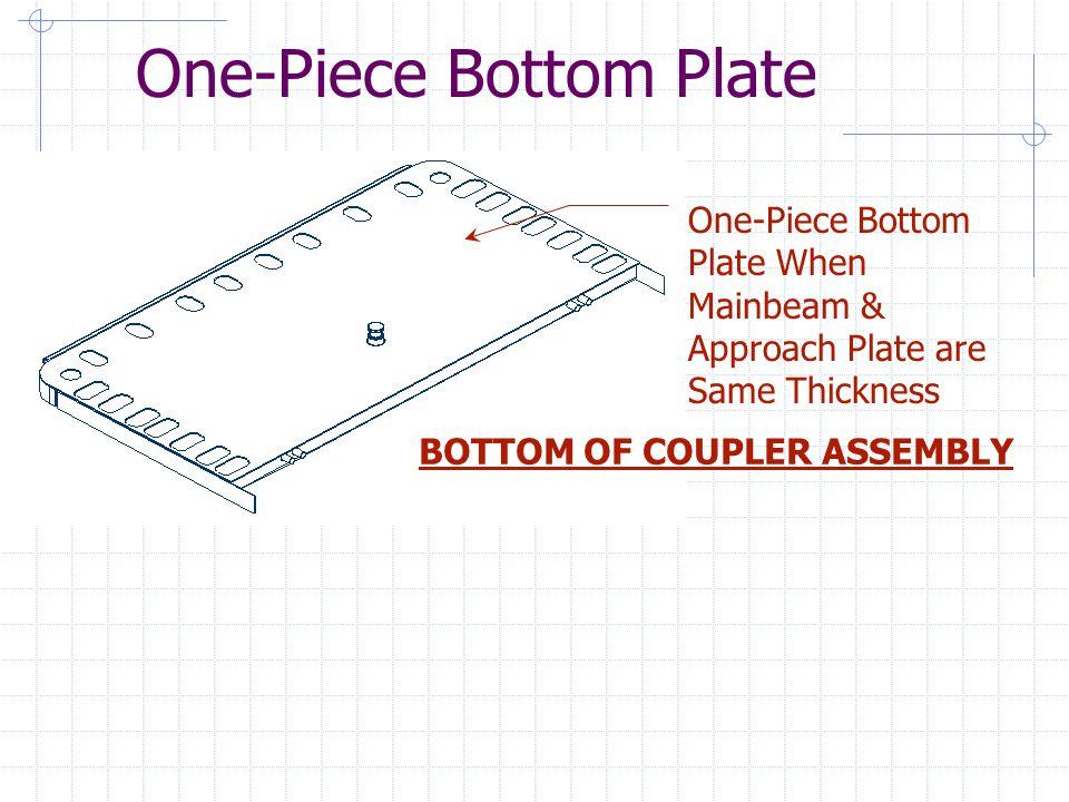 One-Piece Bottom Plate