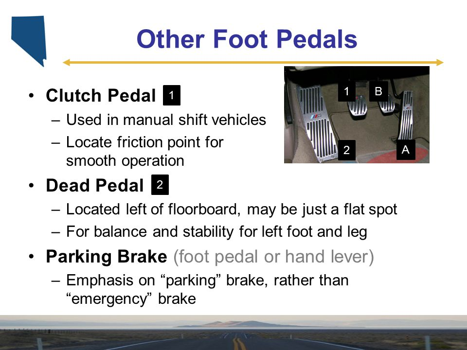 Other Foot Pedals Clutch Pedal Dead Pedal