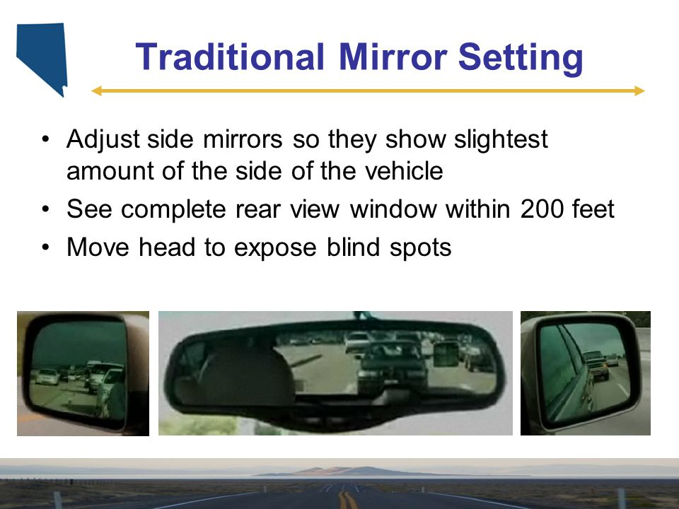 Traditional Mirror Setting