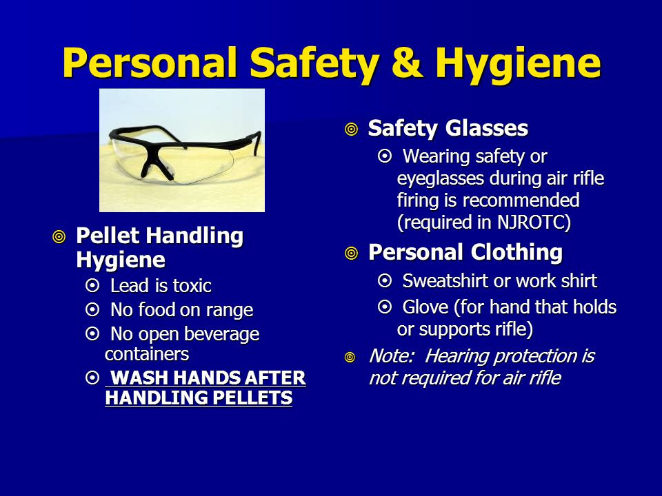 Personal Safety & Hygiene
