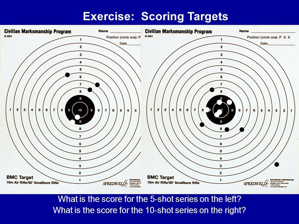 Exercise: Scoring Targets