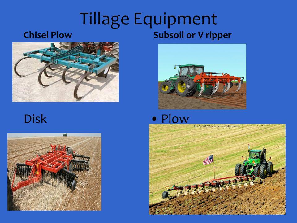 Tillage Equipment Chisel Plow Subsoil or V ripper Disk Plow