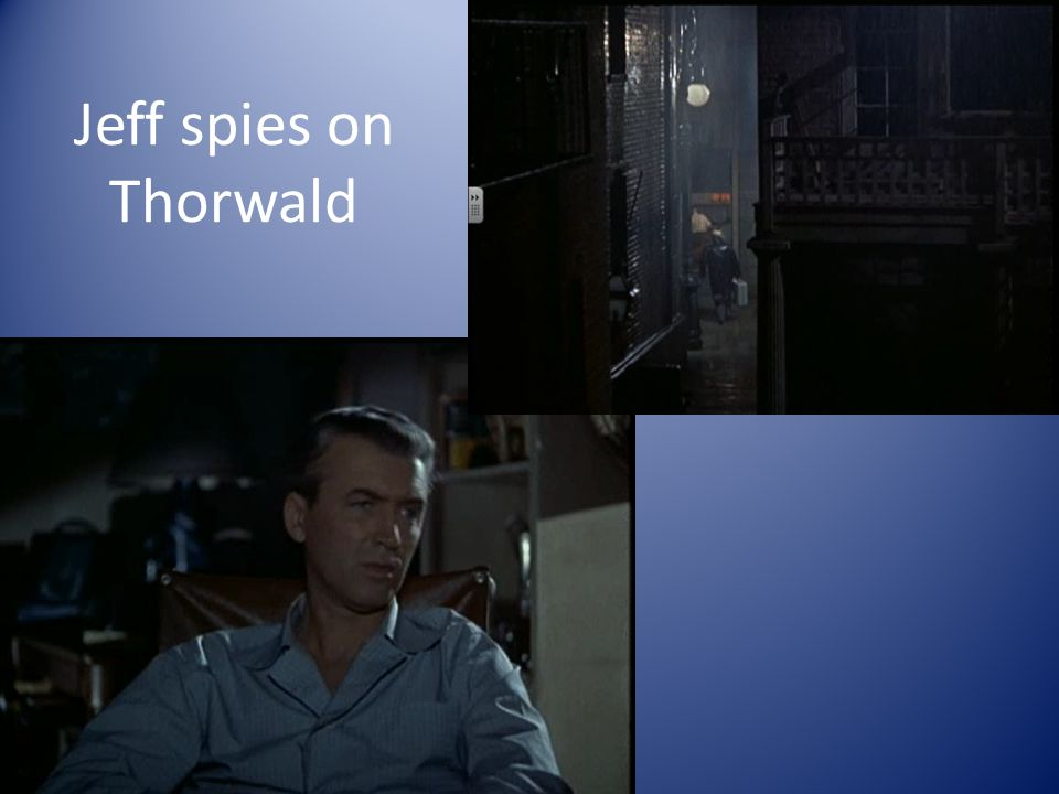 Jeff spies on Thorwald