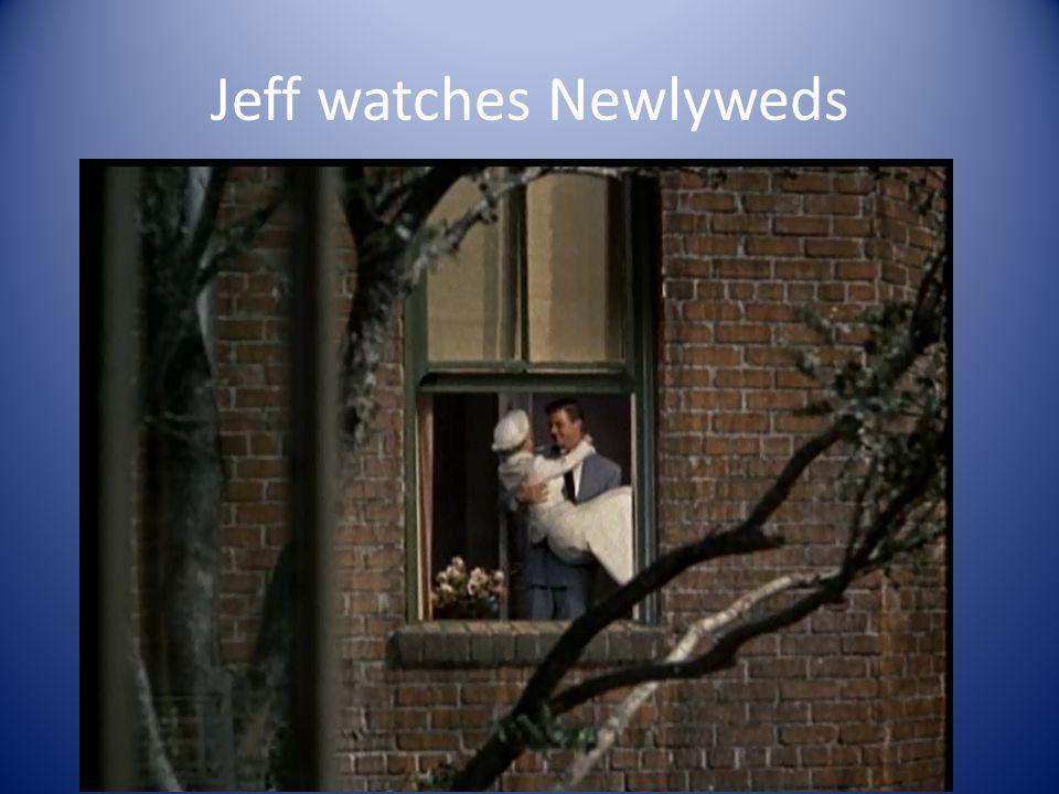 Jeff watches Newlyweds