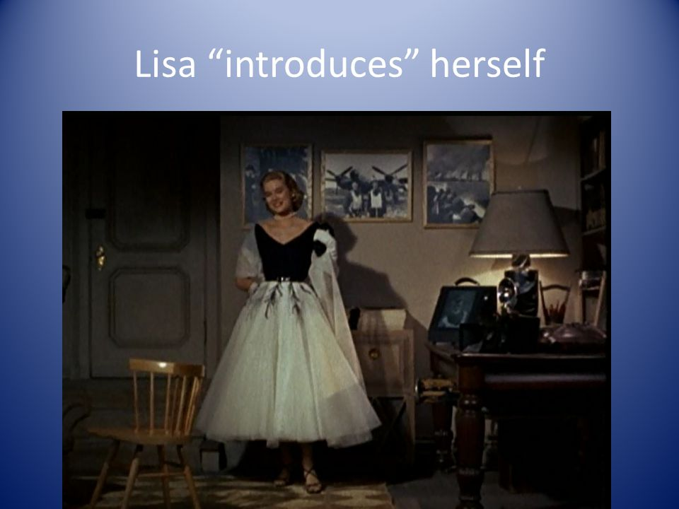 Lisa introduces herself