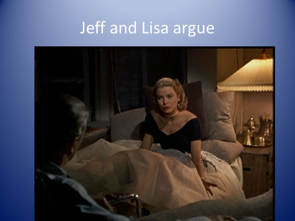 Jeff and Lisa argue