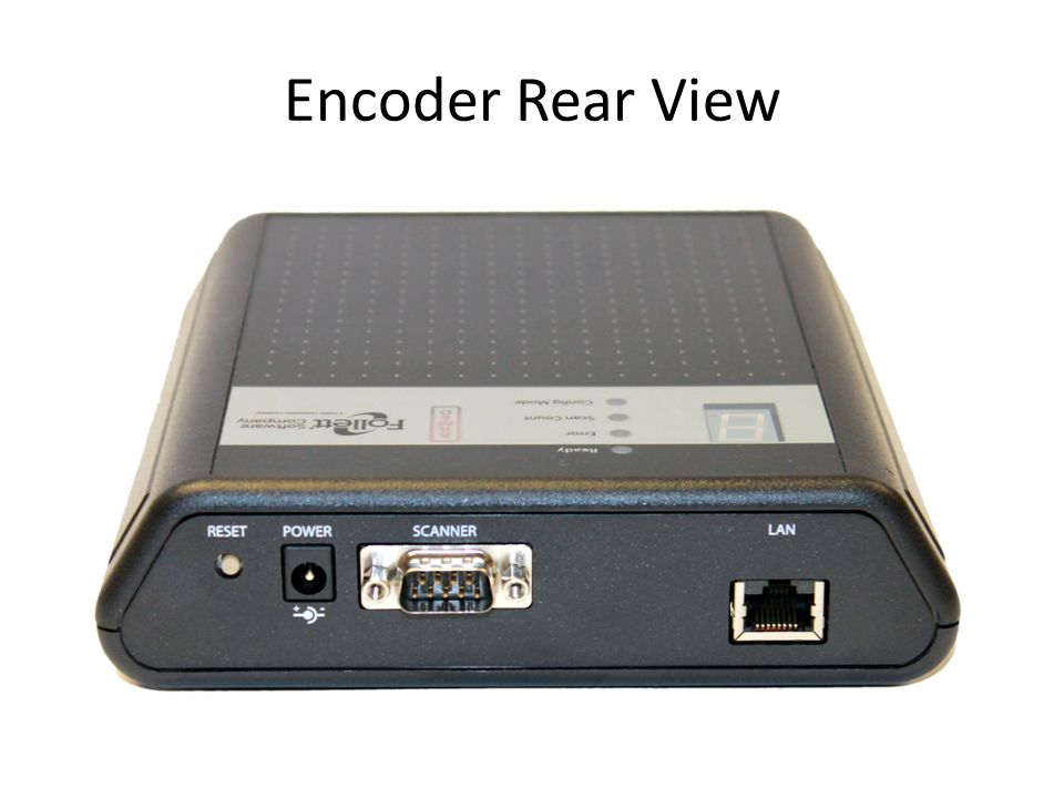 Encoder Rear View