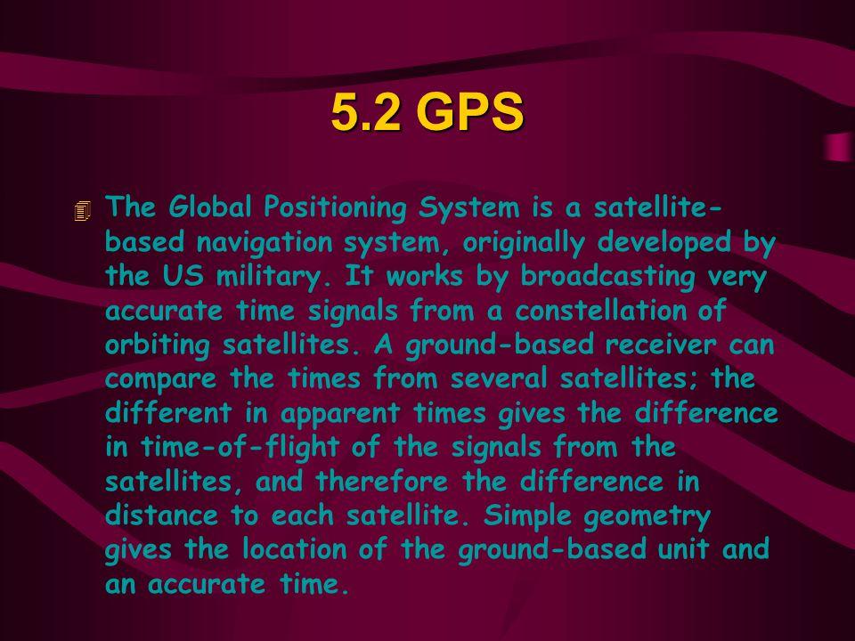5.2 GPS