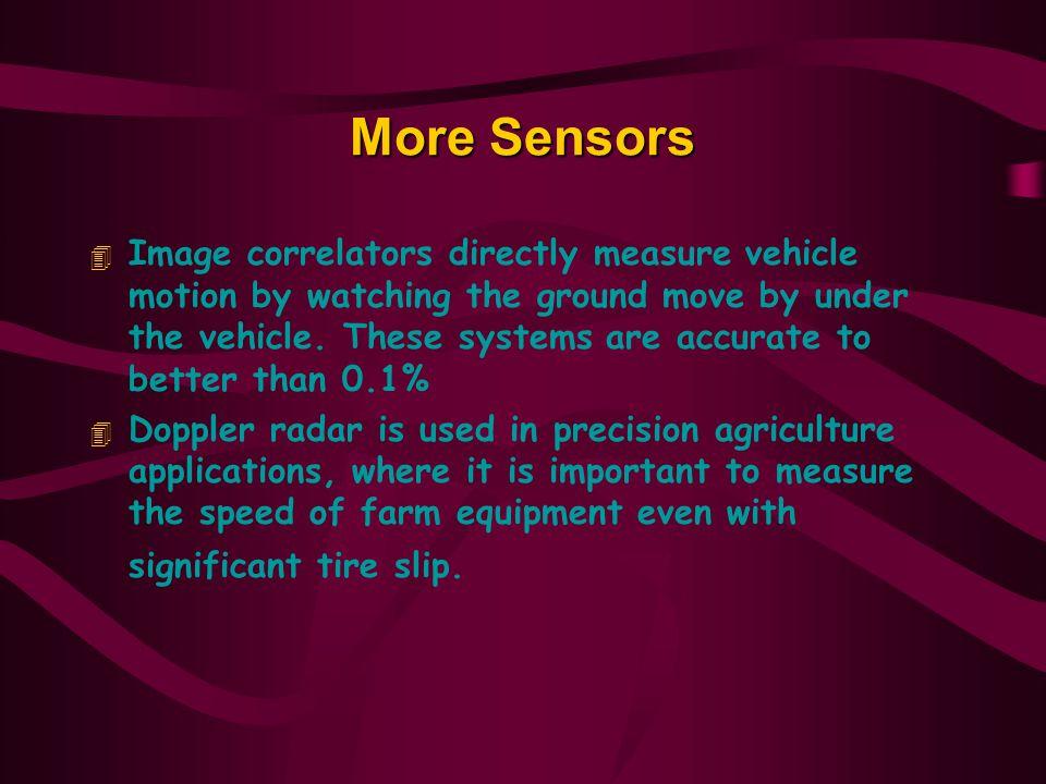 More Sensors