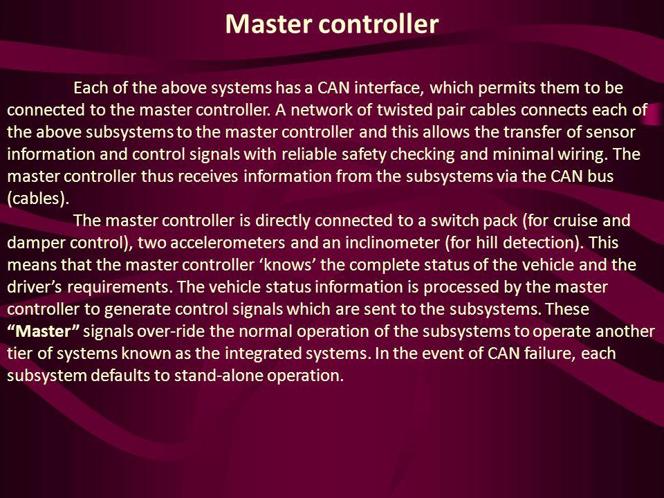 Master controller