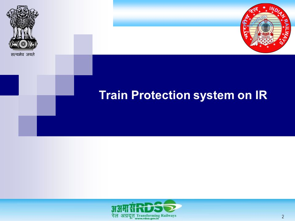 Train Protection system on IR