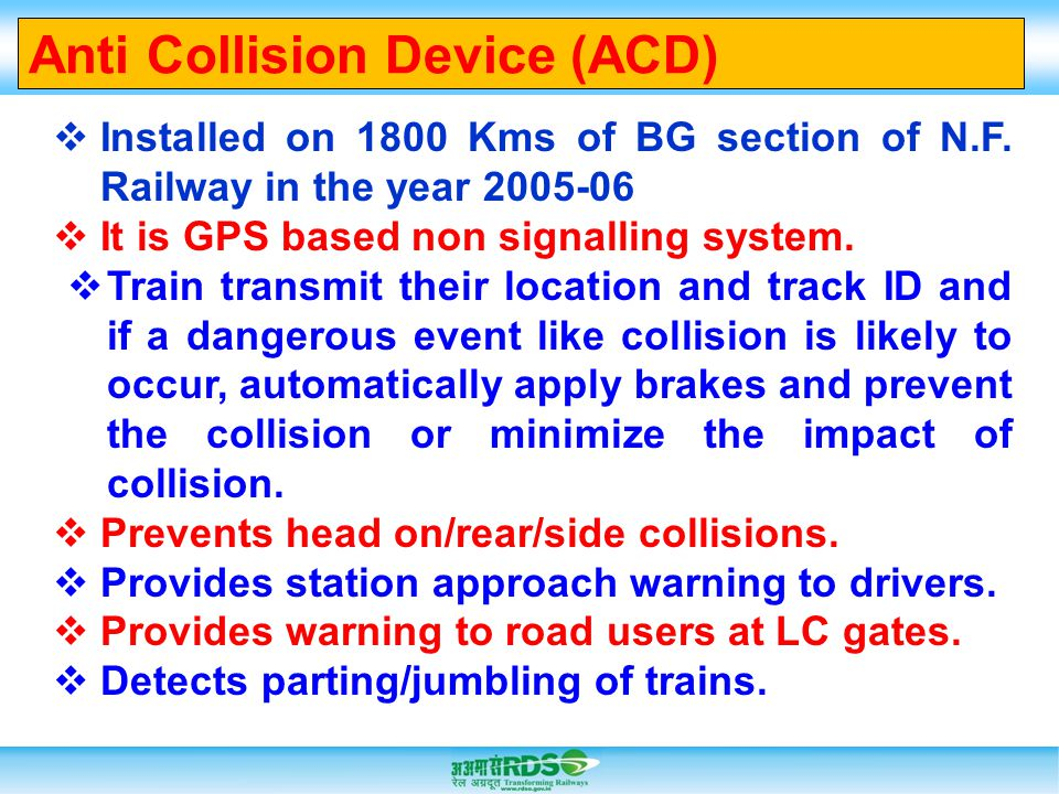 Anti Collision Device (ACD)