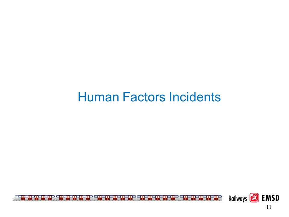 Human Factors Incidents