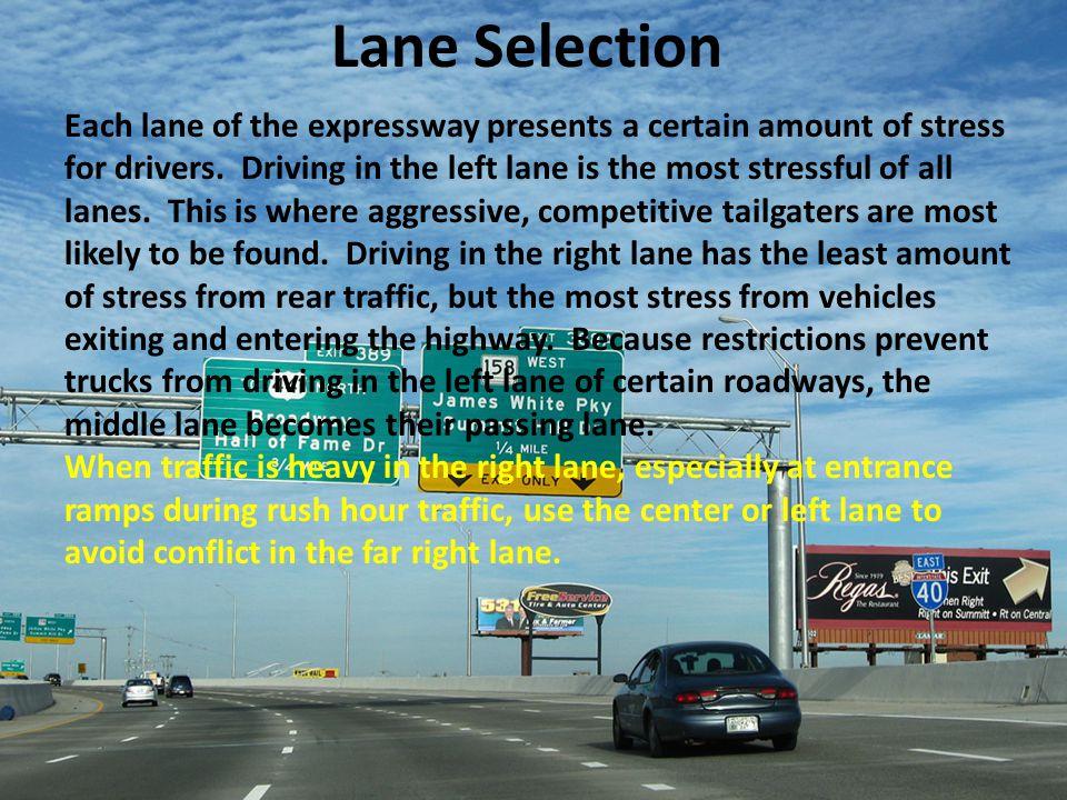 Lane Selection