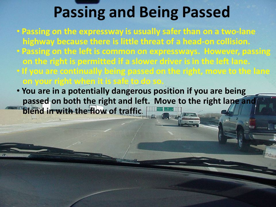 Passing and Being Passed