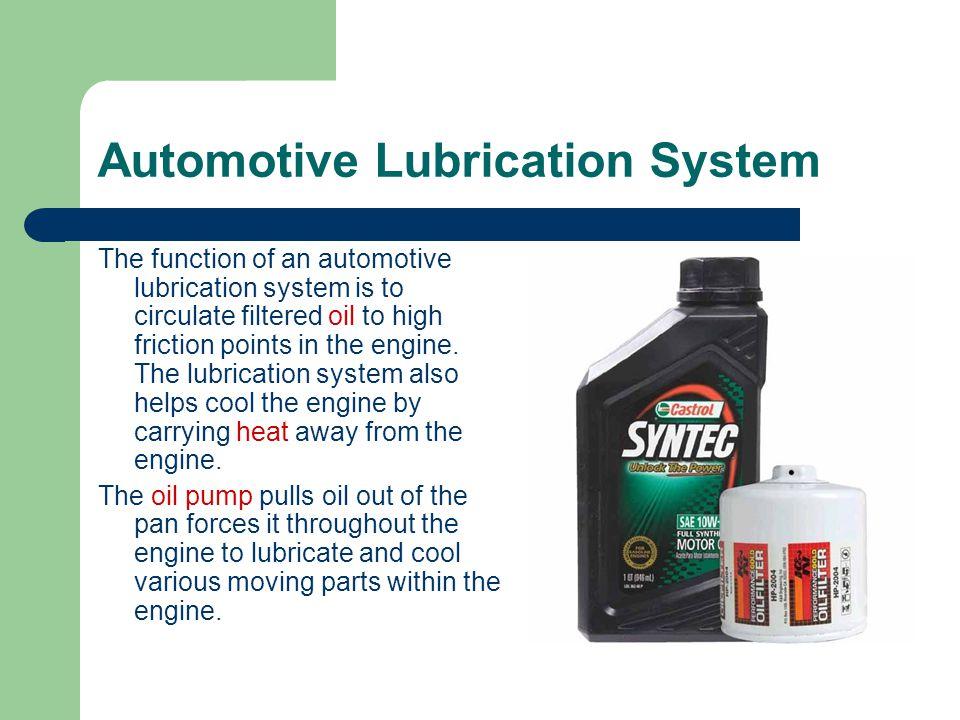 Automotive Lubrication System