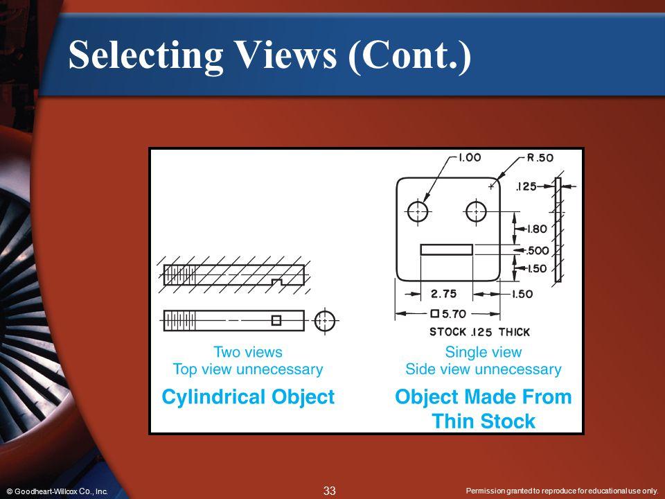 Selecting Views (Cont.)