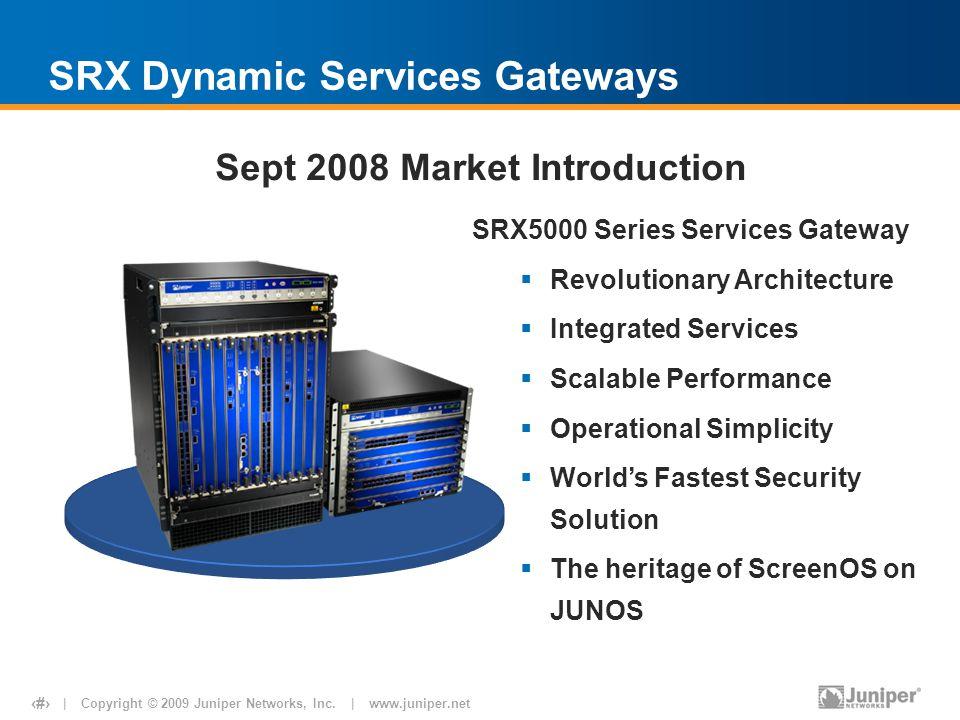 SRX Dynamic Services Gateways