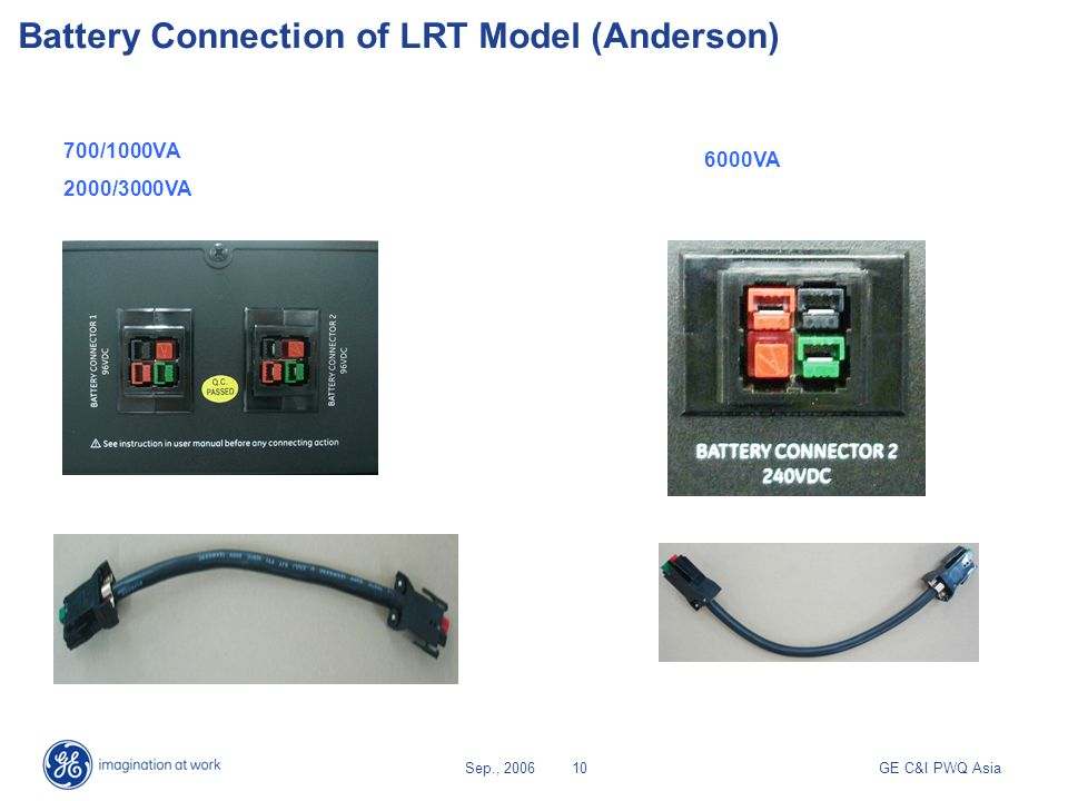 Battery Connection of LRT Model (Anderson)