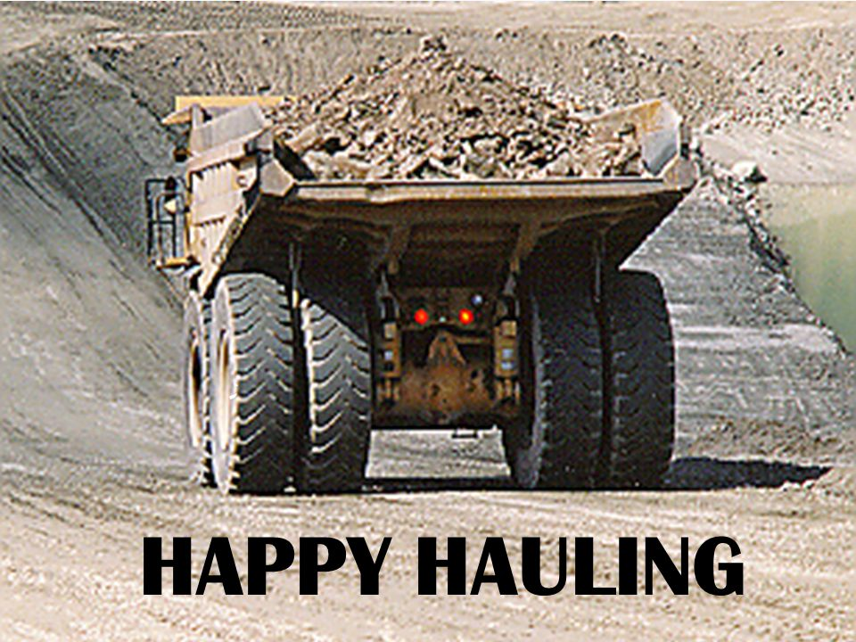 THE MOST COMMON HAULING EQUIPMENT USED FOR MILITARY CONSTRUCTION SITE ARE 2 1/2, 5, AND 20 TON DUMP TRUCKS. THE HAUL CAPACITY CAN BE EXPRESSED IN THREE WAYS: BY THE LOAD IT WILL CARRY (IN TONS), BY THE TRUCKS VOLUME (IN LCY) OR ITS HEAPED CAPACITY (LCY).