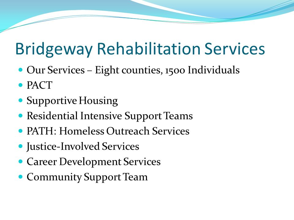 Bridgeway Rehabilitation Services