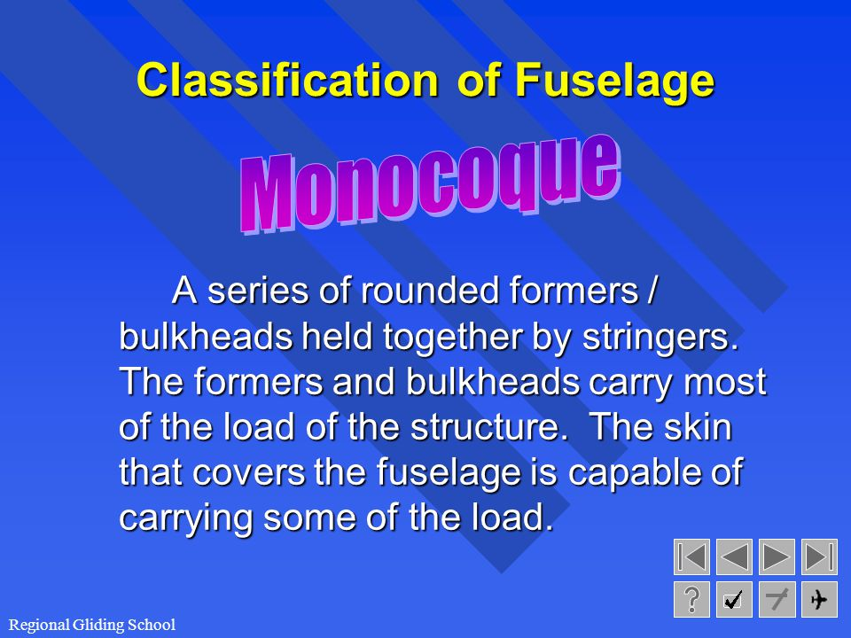 Classification of Fuselage