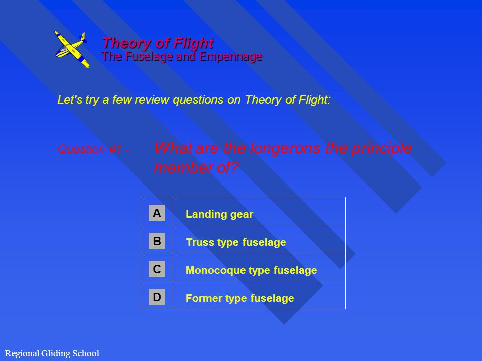 Theory of Flight The Fuselage and Empennage