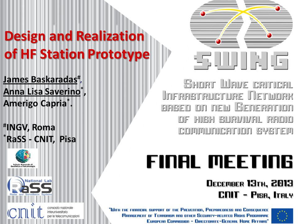 Design and Realization of HF Station Prototype