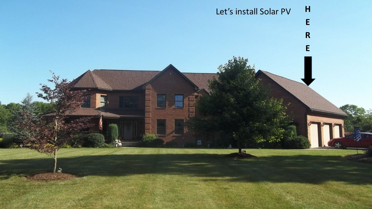 HERE Let's install Solar PV