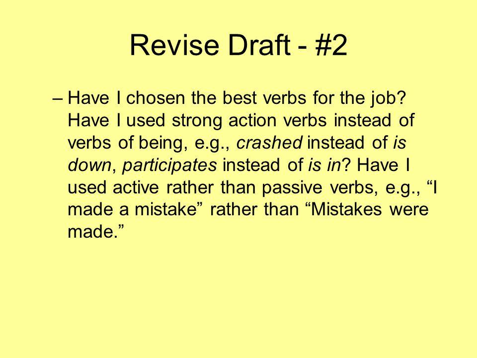 Revise Draft - #2