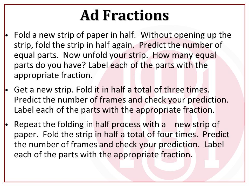 Ad Fractions
