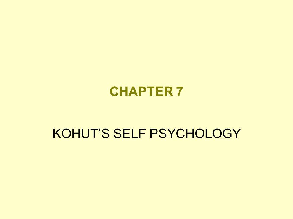 KOHUT'S SELF PSYCHOLOGY
