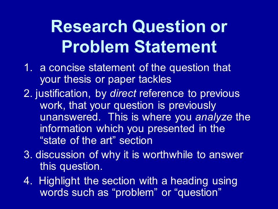 baby thesis in statement of the problem with information Thesis statements and introductions the thesis statement may also be more than one sentence, particularly in longer papers bccc tutoring center 3 there's a new problem without a name now and it's a mare of another color.