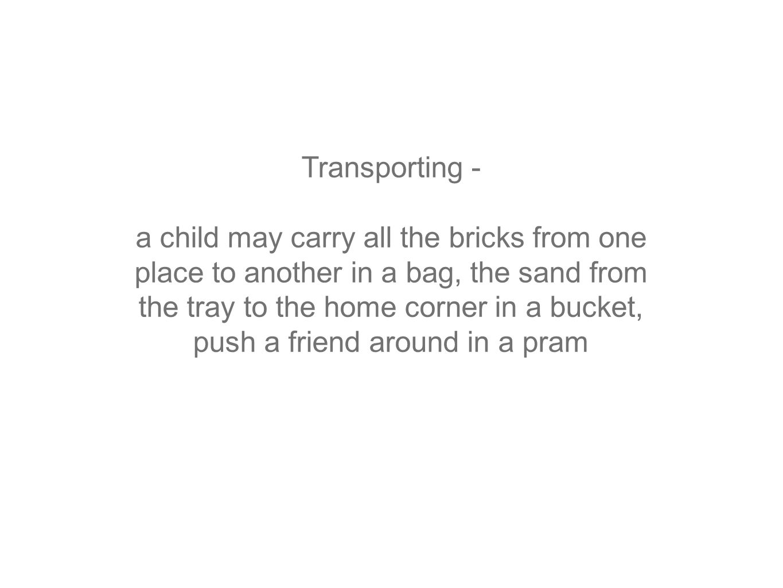Transporting -