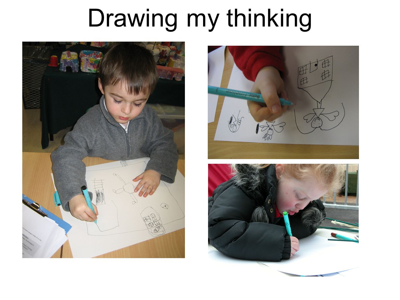 Drawing my thinking