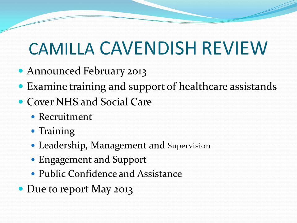 CAMILLA CAVENDISH REVIEW
