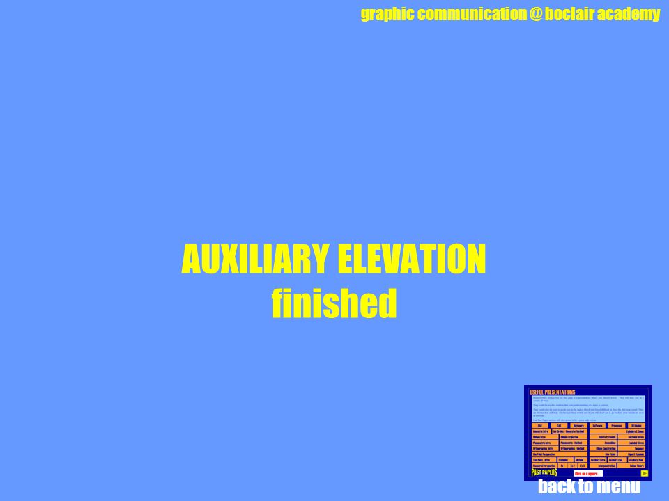 AUXILIARY ELEVATION finished